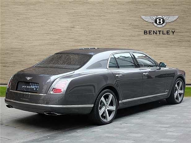 the mulsanne previously pin of england by a bentley pre queen owned
